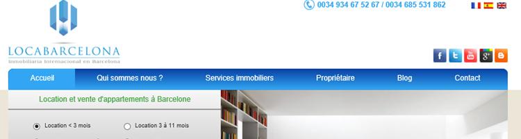 sites pour louer à des français en Espagne location d'appartements inov expat loca barcelona