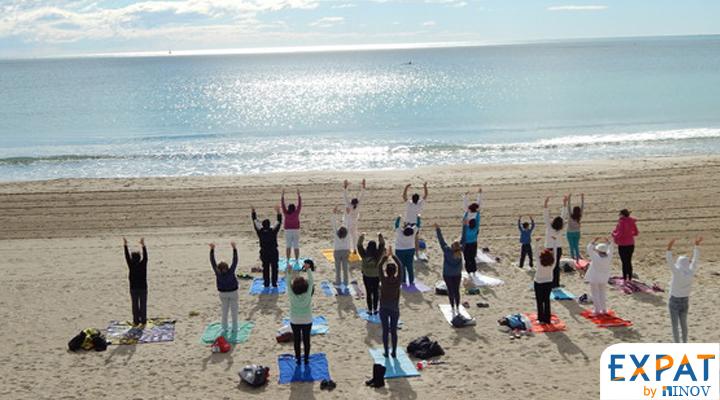 yoga swing hamac Espagne el campello alicante français en Espagne expat by inov