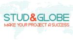 logo con mapa Stude Globe 1