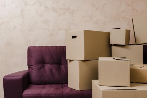 petit déménagement cartons