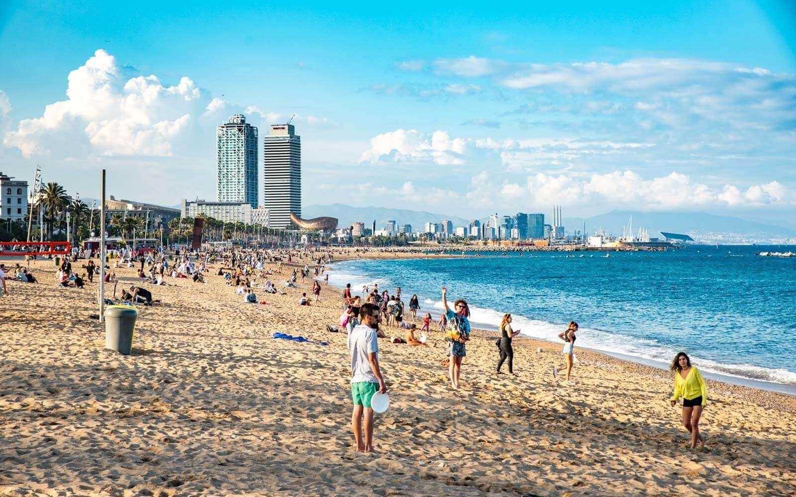 barcelone plage