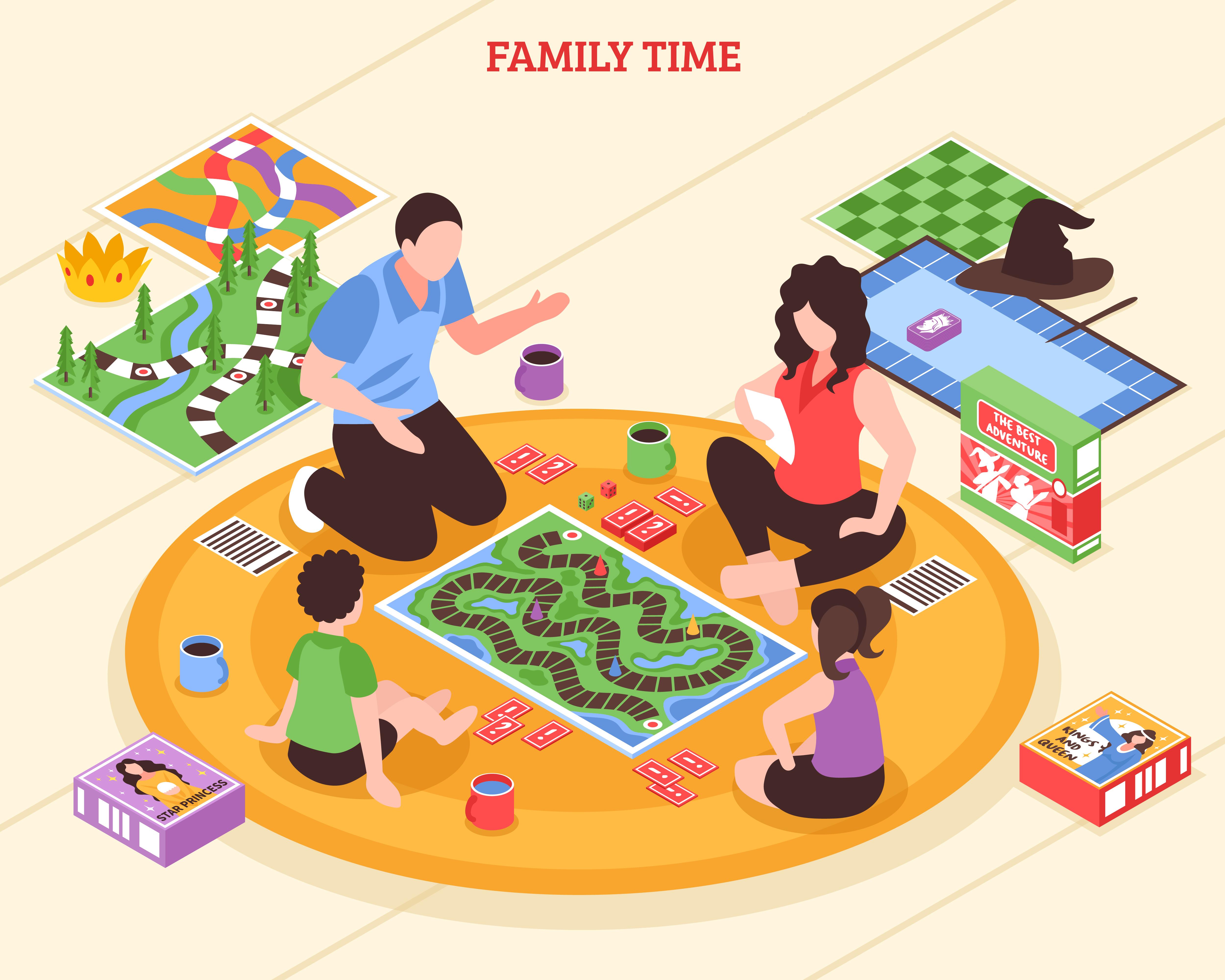 Confinement famille
