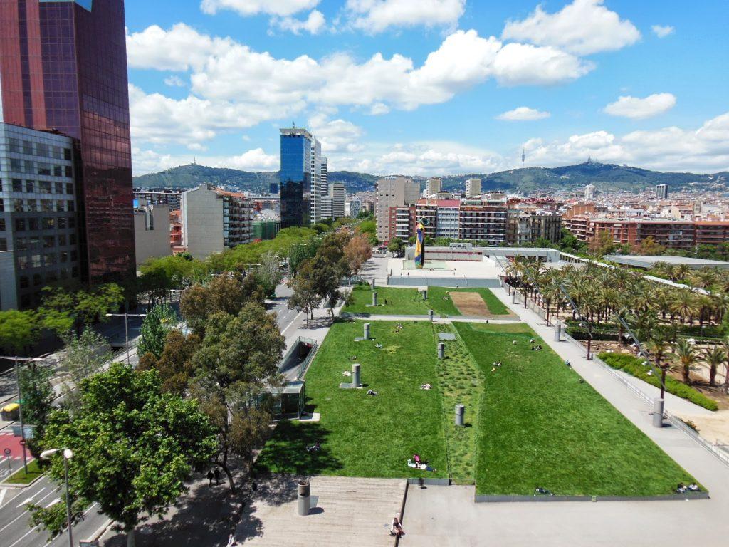 photo du parc Joan Miro