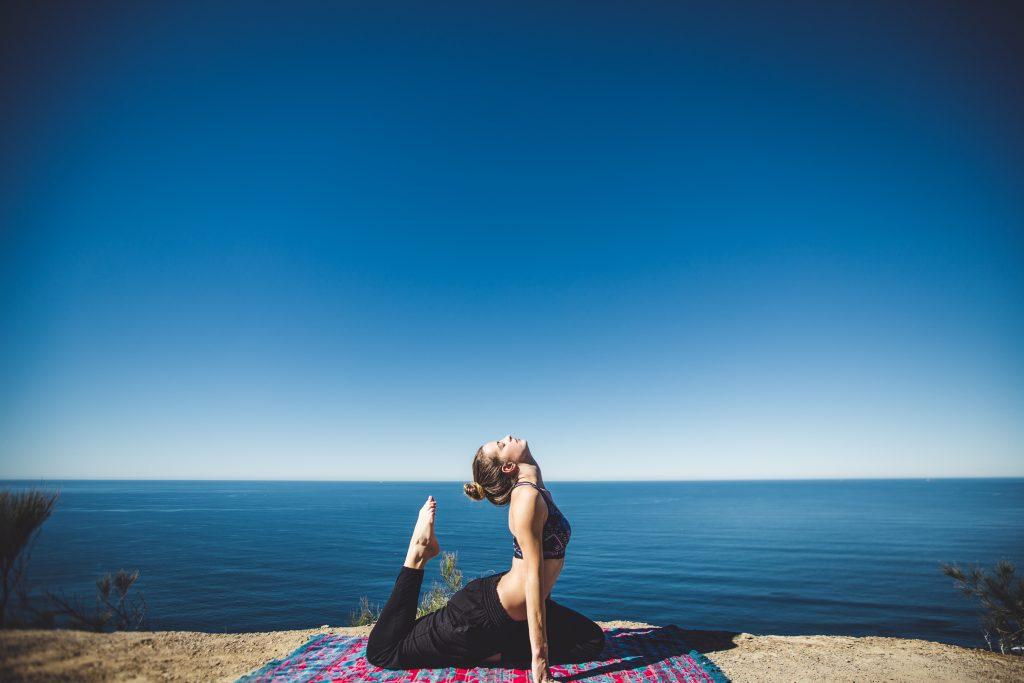 Photo d'une yogi