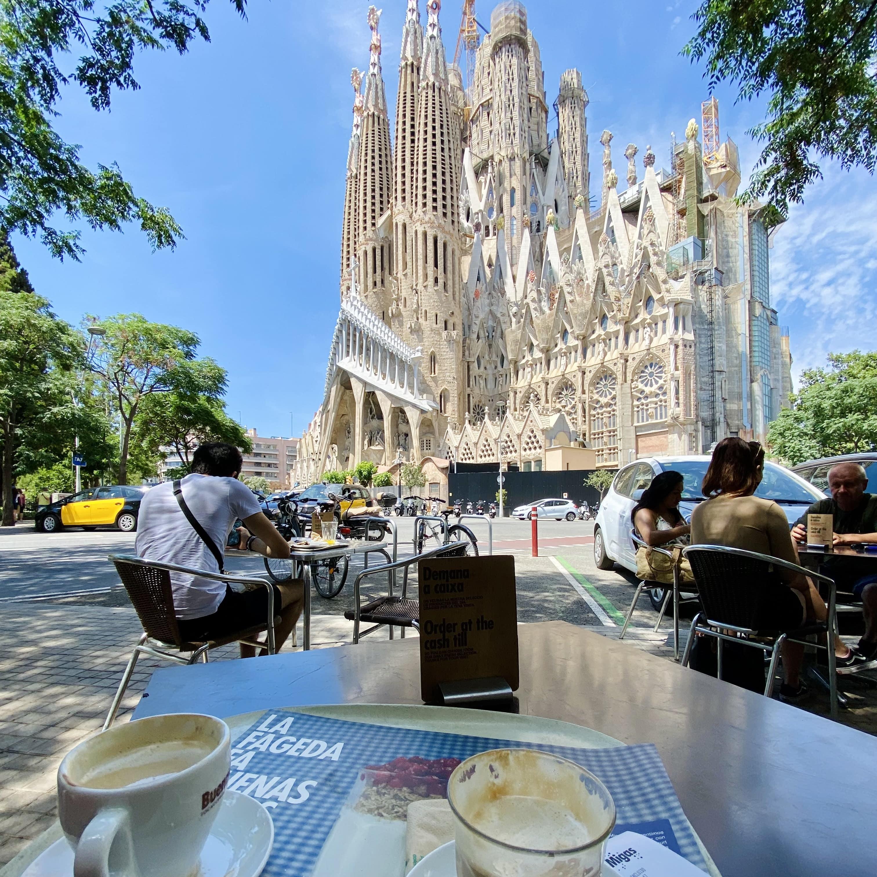 Sagrada Familia café