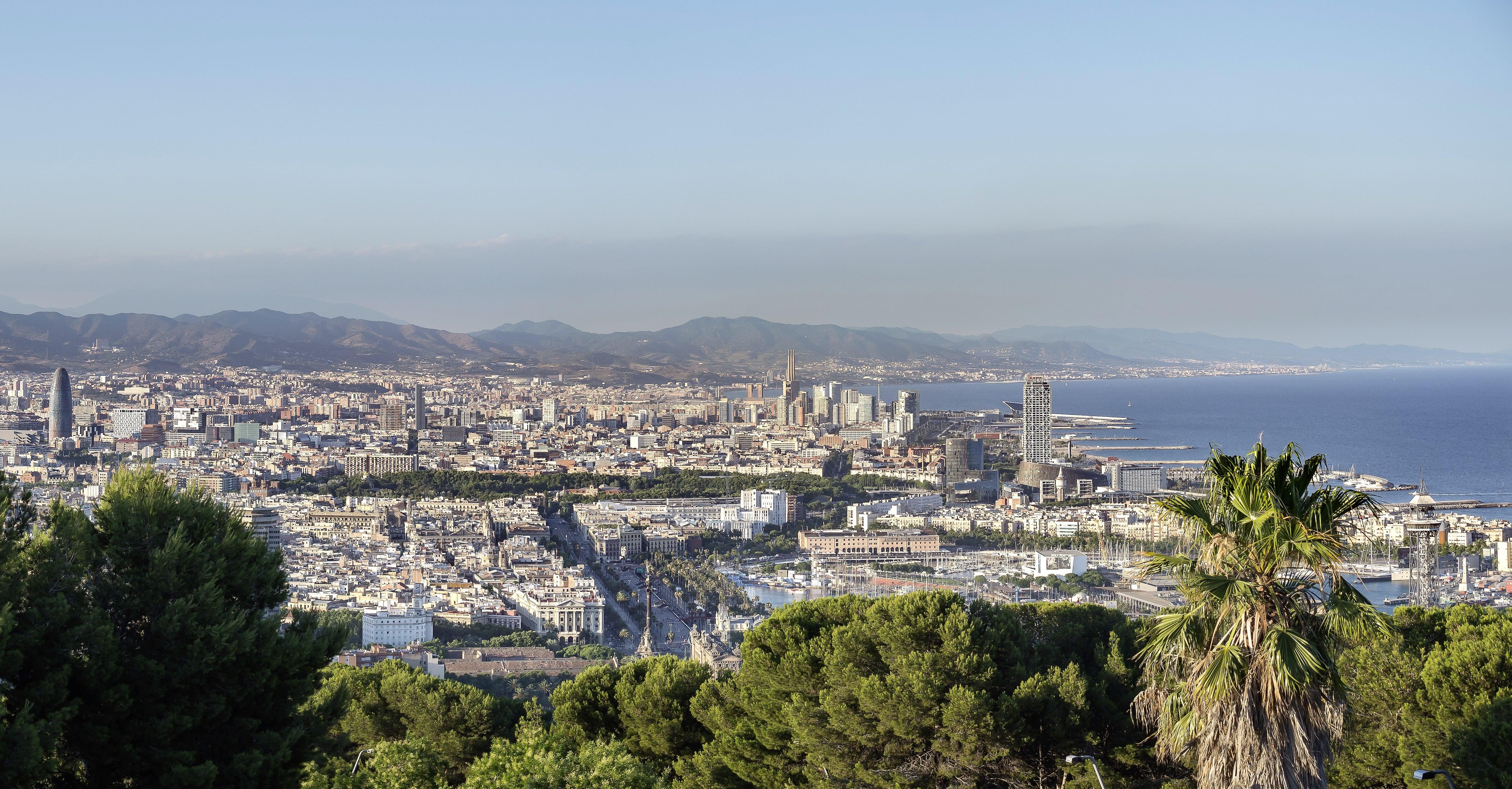 Barcelone à vélo : itinéraire Montjuic