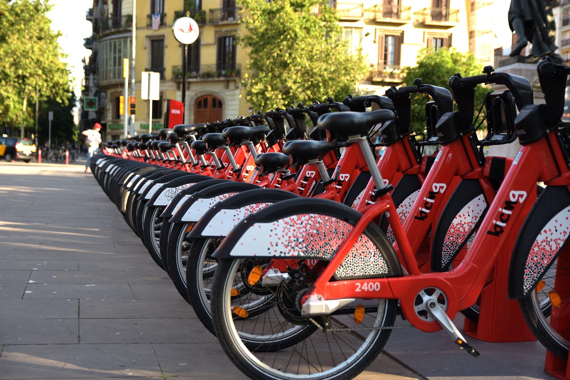 Barcelone à vélo : bicing